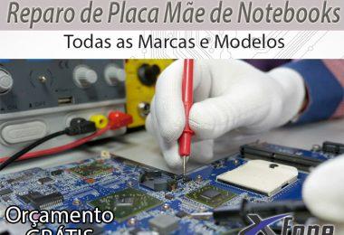 Reparo de placa mãe de notebooks no Rio de Janeiro