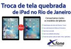 troca de tela de ipad no Rio de Janeiro