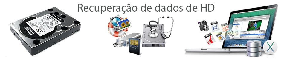 Recuperação de dados de HD