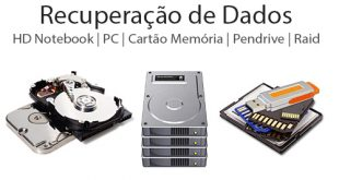 Recuperação de dados HD