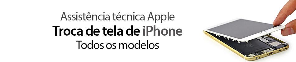 Troca de tela quebrada de iPhone em Duque de Caxias